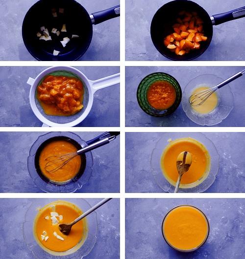 recette crème d'abricot