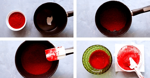 raspberry sauce instructions