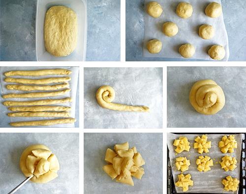 forme des pomme-cannelles