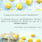 sherbet lemon harry potter quote