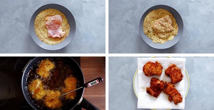 recipe breaded fried chicken