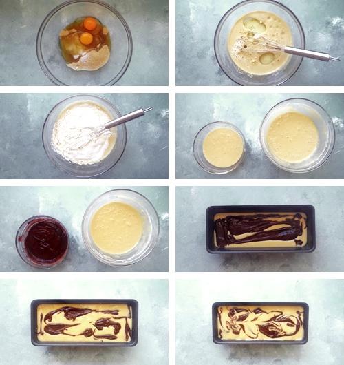 marble kek tarifi