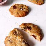 cookies à l'avoine sur table