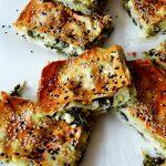 morceaux de börek aux épinards
