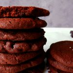 chocolate sables in a pile