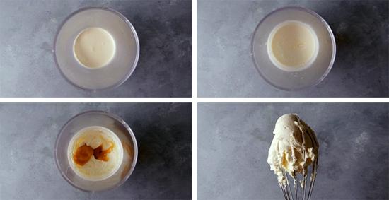 chantilly confiture de lait