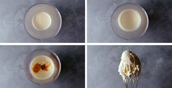 dulce de leche whipped cream