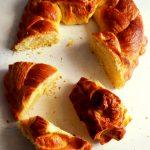caribbean bread in slices