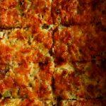 slices of zucchini gratin