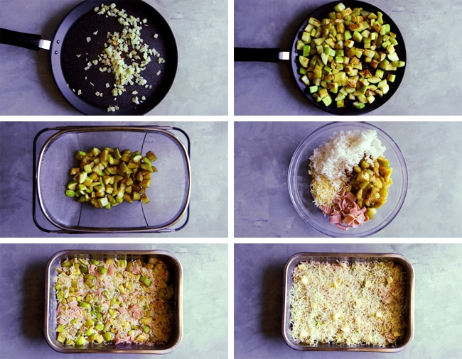 instructions for zucchini gratin