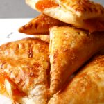 apricot turnovers on top of each other