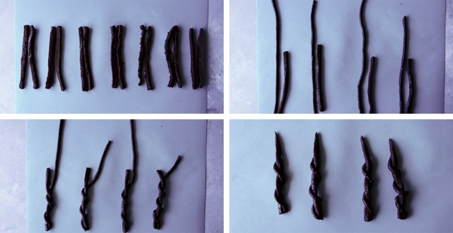 instructions for licorice wands