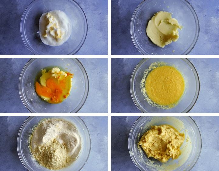 almond orange biscotti dough