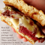 corned beef sandwich and harry potter quote