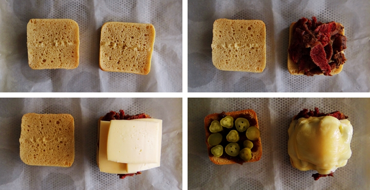 instructions for corned beef sandwich