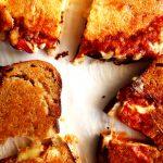 turkish toast cut in half