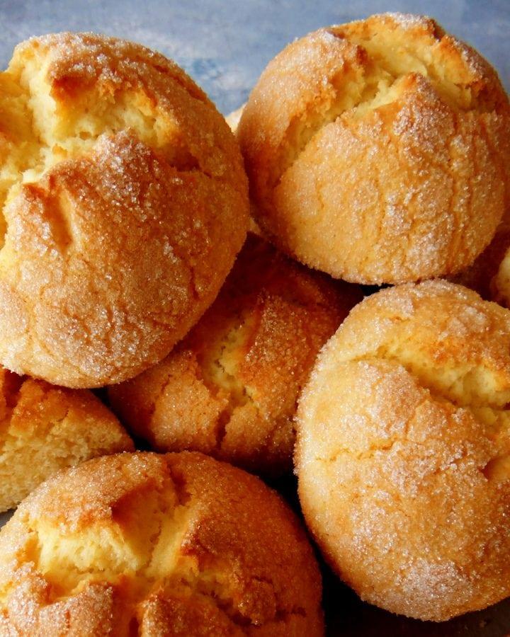 pile of orange cookies