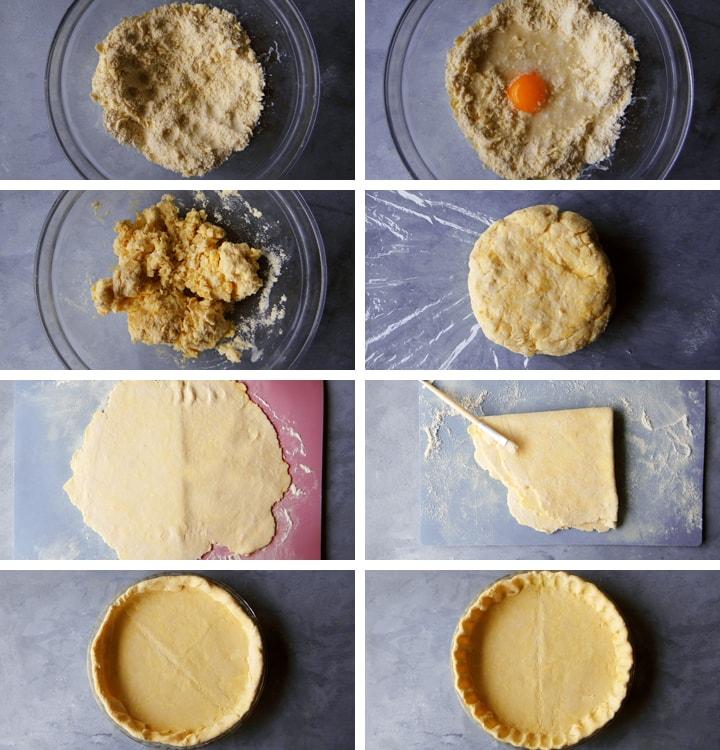 instructions pâte brisée