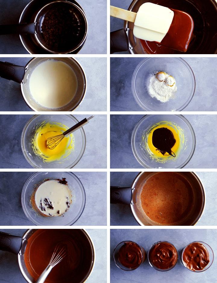 instructions crème dessert au chocolat