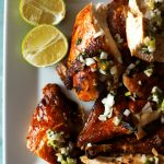 pieces of caribbean baked chicken