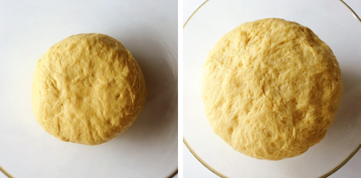 dough that has proofed