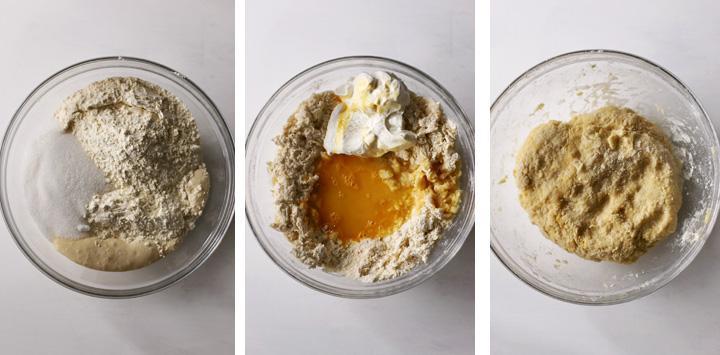 beignets dough ingredients