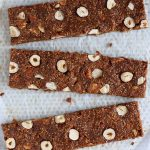 homemade fig bars cut in slices