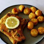 pork chop and potatoes