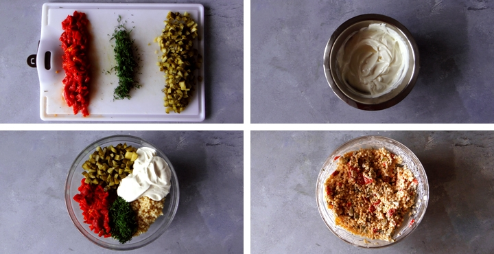 instructions salade de pâtes froide