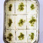 gâteau au pavot dans moule
