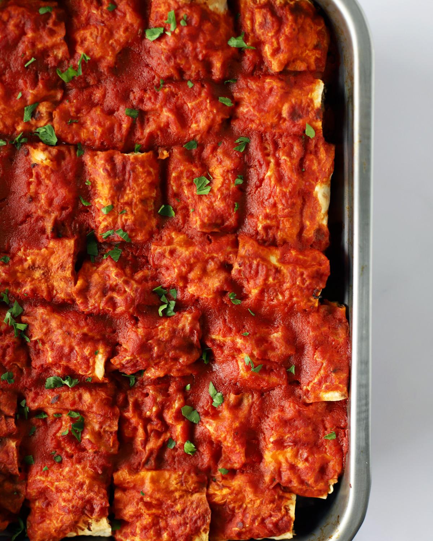 beyti kebab dans un plat