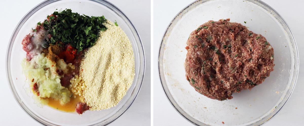 meat stuffing ingredients