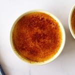 crème brûlée for 2 in a ramekin