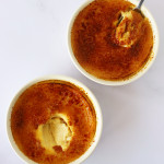 crème brûlée for 2 in ramekins