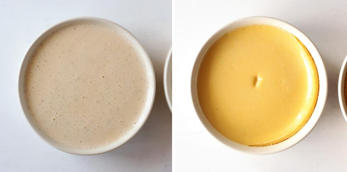 exemple cuisson crème brûlée pour 2