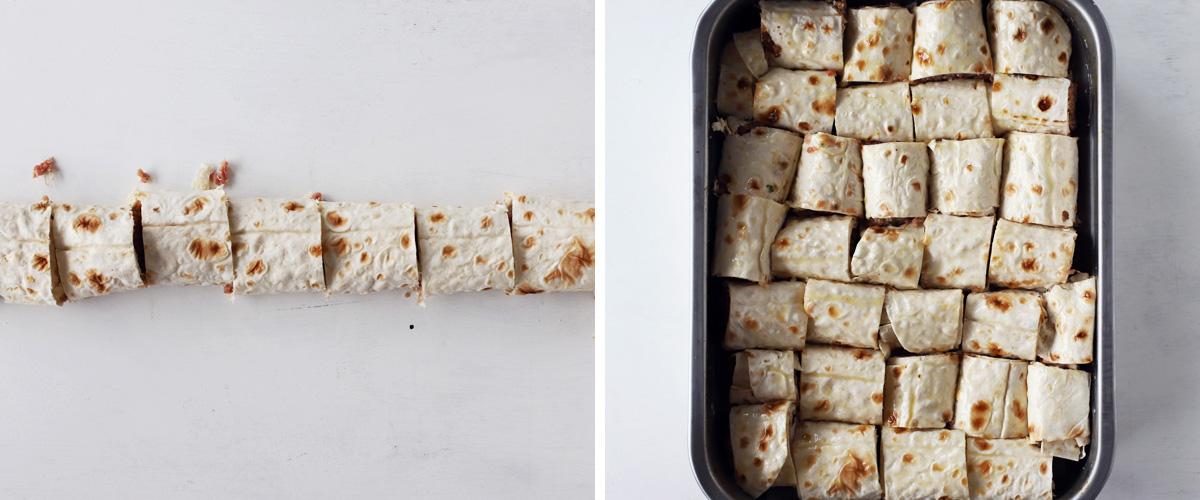 beyti kebab before baking