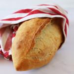 ekmek wrapped in tea towel