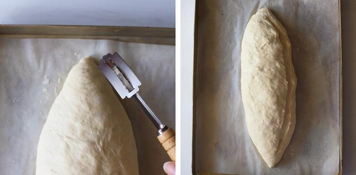 angle to score loaf