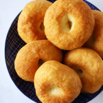 fried bread on a plate