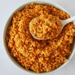 boulgour turc dans plat