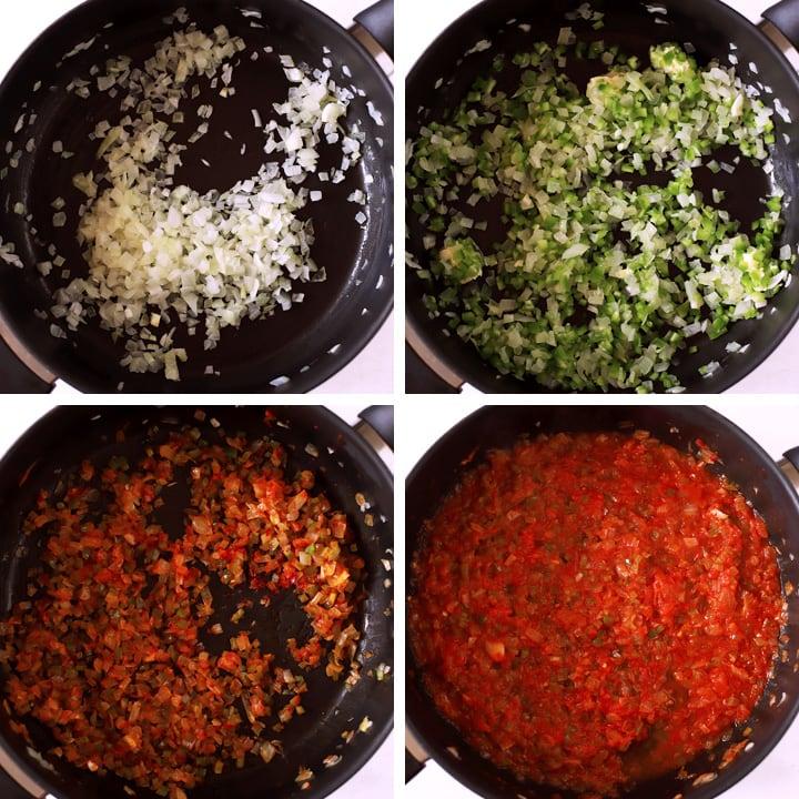 bulgur pilaf ingredients cooked